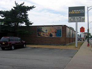 Edens location on Cicero
