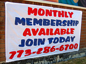 Get your monthly memberships here!