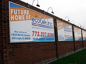 Cicero Ave. features signage