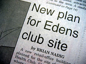 New plan for Edens club site